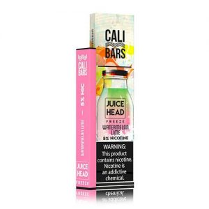 Cali Bars x Juice Head - Disposable Vape Device - Watermelon Lime Freeze - Single / 50mg