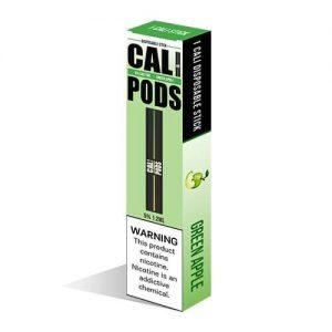 Cali Pods - Disposable Vape Pod Device - Green Apple - 1.2ml / 50mg