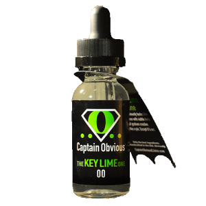 Captain Obvious E-Juice - The Key Lime One - 60ml - 60ml / 0mg