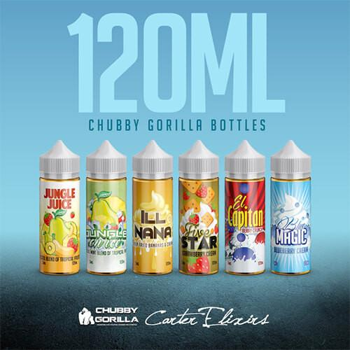 Carter Elixirs - Sample Pack - 120ml / 0mg
