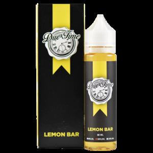Due Time eJuice - Lemon Bar - 60ml - 60ml / 0mg