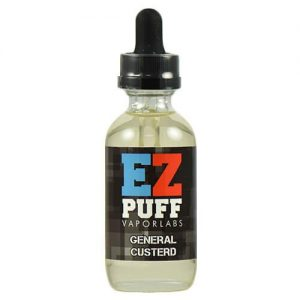EZ PUFF eJuice - General Custerd - 30ml - 30ml / 0mg