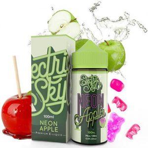 Electric Sky Co E-Juice - Neon Apples - 100ml - 100ml / 0mg
