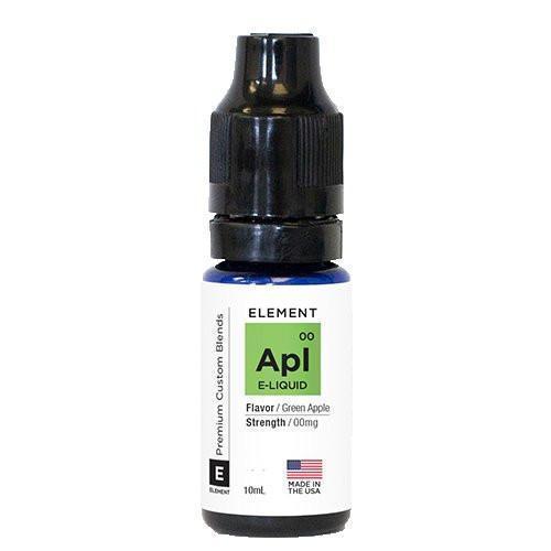 Element eLiquid Traditionals - Green Apple - 20ml - 20ml / 0mg