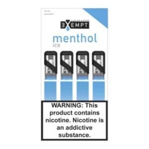 Remit by Exempt - Pre-Filled Pods - Menthol Ice (4 Pack) - 1.2ml / 50mg