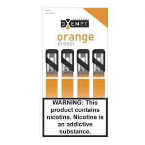 Remit by Exempt - Pre-Filled Pods - Orange Dream (4 Pack) - 1.2ml / 50mg