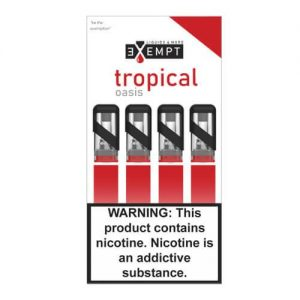 Remit by Exempt - Pre-Filled Pods - Tropical Oasis (4 Pack) - 1.2ml / 50mg