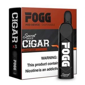 FOGG Vape - Ultra Portable and Disposable Device - Cigar - 3 Pack / 50mg
