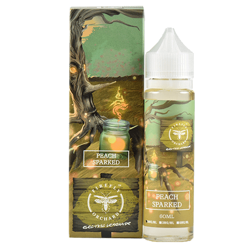 Firefly Orchard eJuice - Lemon Elixirs - Peach Sparked - 60ml - 60ml / 0mg