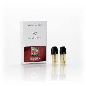 Frisco Vapor - My. Von Erl LiquidPods - Powell (2 Pack) - 0mg