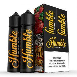 Humble Juice Co. - Strawberry Waffle - 2x60ml / 0mg