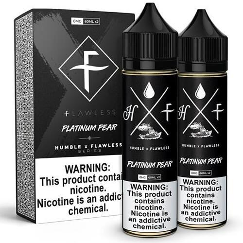 Humble x Flawless Collaboration - Platinum Pear - 2x60ml / 3mg
