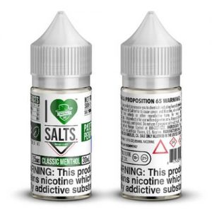 I Love Salts by Mad Hatter - Classic Menthol - 30ml / 25mg