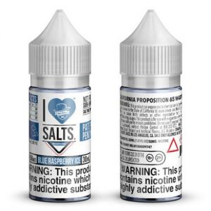 I Love Salts by Mad Hatter - Blue Raspberry Ice - 30ml / 50mg
