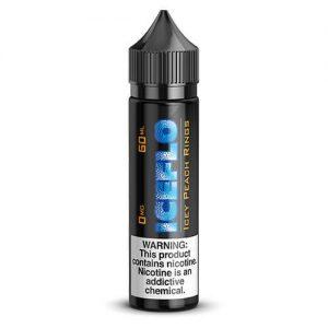 IceFlo Juice Co - Icey Peach Rings - 60ml / 0mg