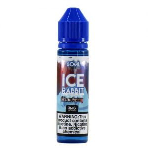 Ice Rabbit by Mighty Vapors - Strawberry - 60ml / 0mg