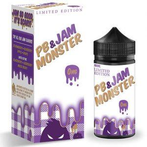 Jam Monster eJuice - PB & Grape Jam - 100ml / 3mg