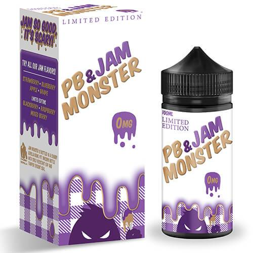 Jam Monster eJuice - PB & Grape Jam - 100ml / 0mg