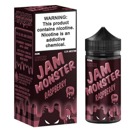 Jam Monster eJuice - Raspberry (Limited Edition) - 100ml / 0mg