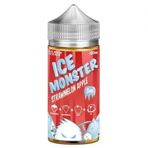Jam Monster Ice eJuice - Strawmelon Apple - 100ml / 0mg