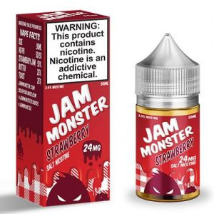 Jam Monster eJuice SALT - Strawberry - 30ml / 24mg