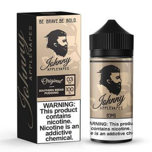 Johnny Apple Vapes - Southern Bread Pudding - 100ml / 0mg