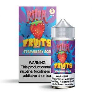 Killa Fruits - Strawberry Acai - 100ml / 0mg