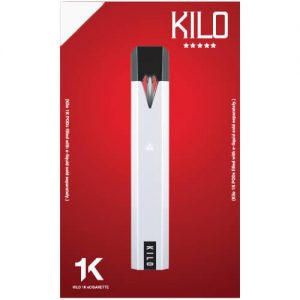 Kilo eLiquids 1K Vaporizer Device - White
