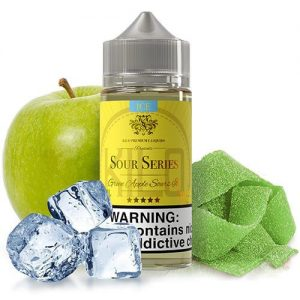 Kilo eLiquids Sour Series ICE - Green Apple Sours Ice - 100ml / 0mg