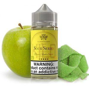 Kilo eLiquids Sour Series - Green Apple Sours - 100ml / 3mg