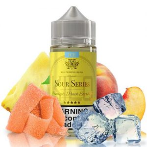 Kilo eLiquids Sour Series ICE - Pineapple Peach Sours Ice - 100ml / 0mg