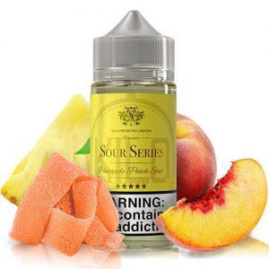 Kilo eLiquids Sour Series - Pineapple Peach Sours - 100ml / 6mg