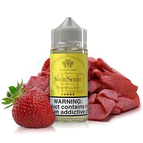 Kilo eLiquids Sour Series - Strawberry Sours - 100ml / 0mg