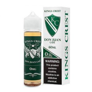 Kings Crest Premium E-Liquid - Don Juan Cafe - 60ml / 0mg