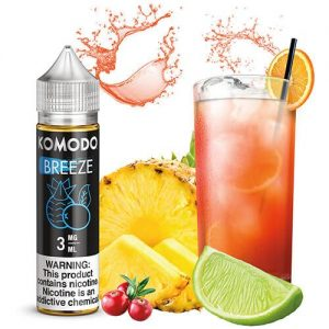 Komodo eJuice - Breeze - 60ml / 3mg