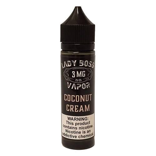 Lady Boss Vapor - Coconut Cream - 120ml / 12mg