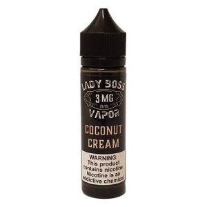 Lady Boss Vapor - Coconut Cream - 60ml / 12mg