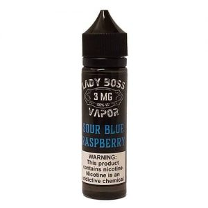 Lady Boss Vapor - Sour Blue Raspberry - 120ml / 12mg