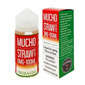 MUCHO eJuice - Strawberry - 100ml / 0mg