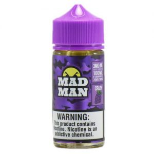 MadMan Liquids - Crazy Grape - 100ml / 3mg
