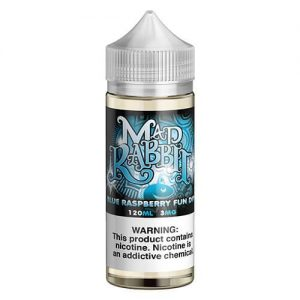 Mad Rabbit eJuice - Blue Raspberry - 120ml / 3mg