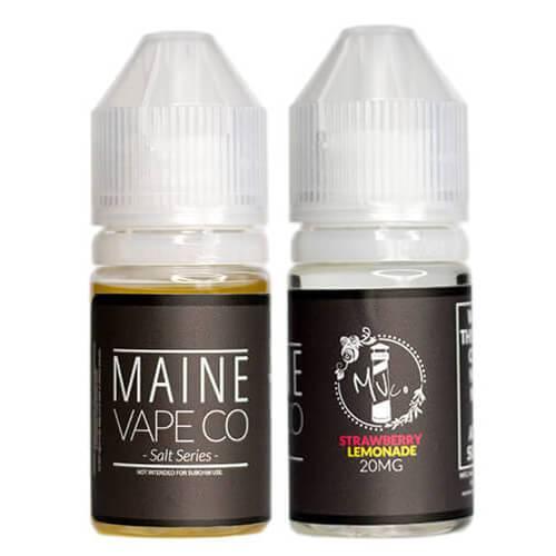 Salt Series by Maine Vape Co - Strawberry Lemonade - 30ml / 40mg