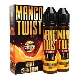 Mango Twist E-Liquids - Mango Cream Dream (Limited Edition) - 120ml / 0mg
