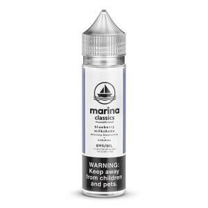 Marina Classics - Blueberry Milkshake - 60ml / 0mg