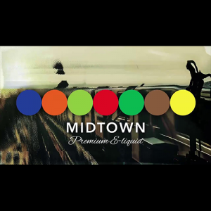 Midtown eLiquid - Berry White - 30ml / 0mg