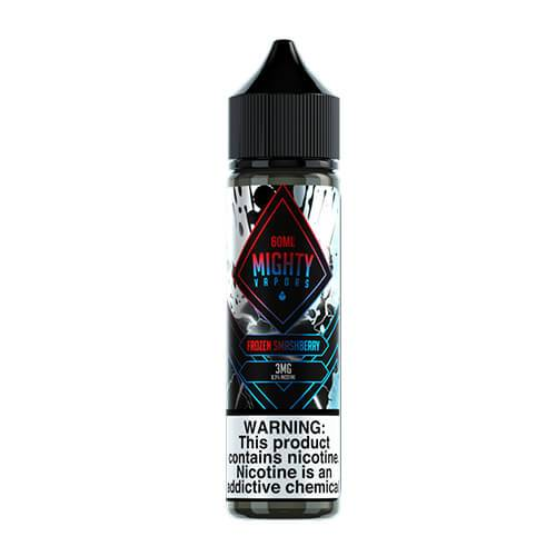 Mighty Vapors - Frozen Smash Berry - 60ml / 0mg