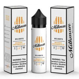 The MilkMan Delights eLiquids - Mango Creamsicle - 60ml / 6mg