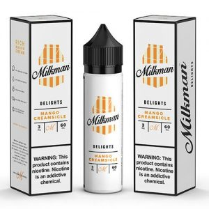 The MilkMan Delights eLiquids - Mango Creamsicle - 60ml / 0mg