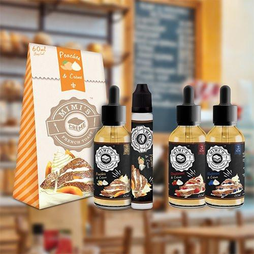 Mimi's French Toast eJuice - Sample Pack - 60ml / 0mg