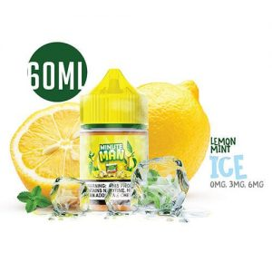 Minute Man Vape - Lemon Mint Ice Sub Ohm Salt - 60ml / 0mg